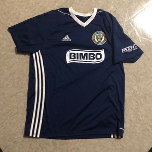 Philadelphia Union soccer jersey